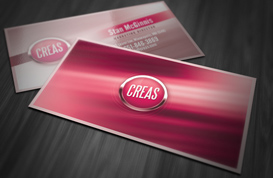 Abstract Effects Business Card Template