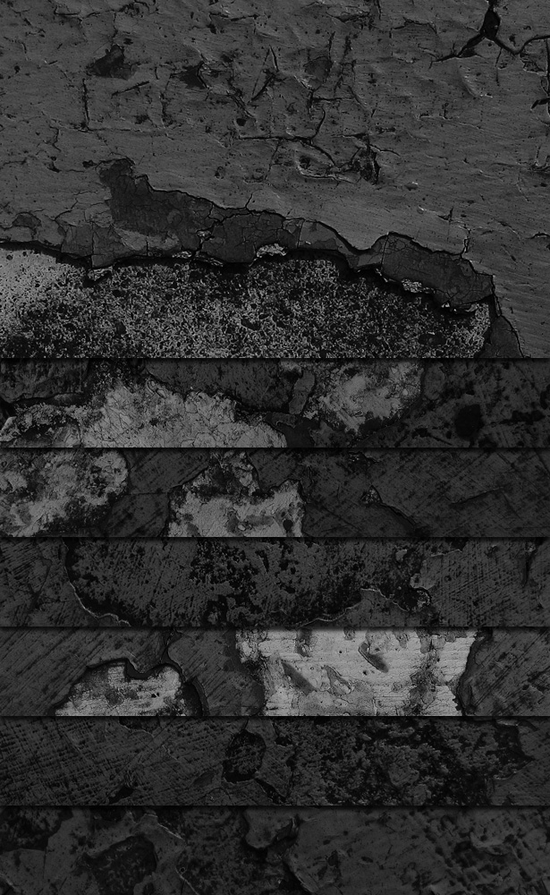 Black and White Grunge Textures - Part III
