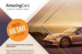 Car Dealer Flyer Template