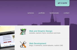City Studio Website Template
