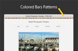 Color Bars Patterns for Photoshop