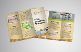 Colorful Tri-Fold Brochure Template