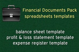 Financial Documents Pack
