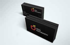 Fresh Photography Business Card Template