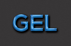 Gel Text Styles for Photoshop