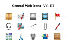 General Web Icons – Volume III