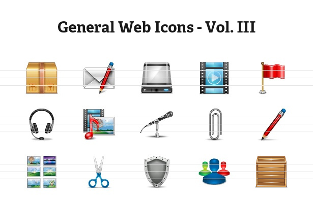 General Web Icons - Volume III