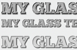 Glass Text Styles – Vol. II