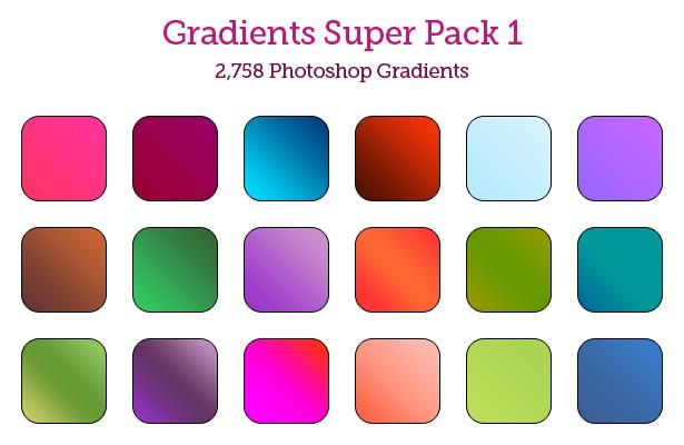 Gradients Super Pack