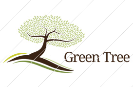 Green Tree Logo Template