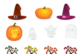 Autumn/Halloween Vectors