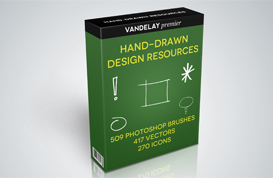 Hand-Drawn Design Resources Bundle