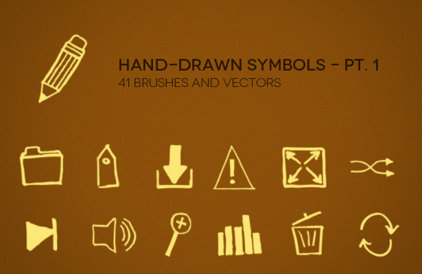 Hand-Drawn Symbols - Part I