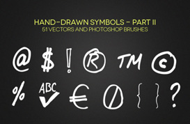 Hand-Drawn Symbols – Part II