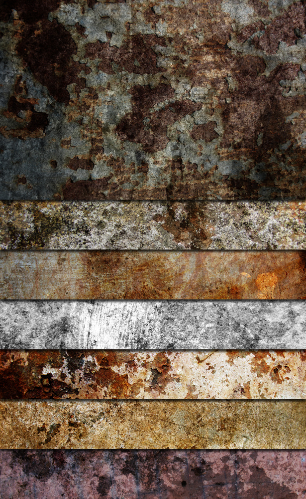 Heavy Grunge Textures - Part III