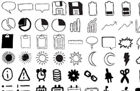 Imperfect: A Hand-Drawn Icon Set