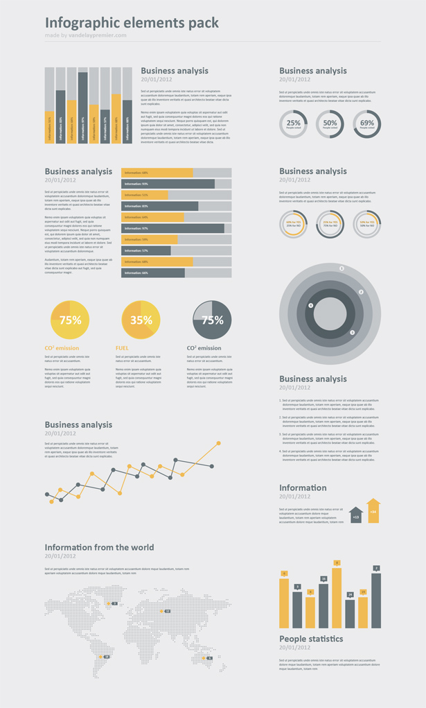 Infographic PSD