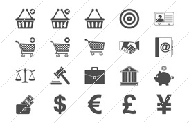 Minimal Business Icons