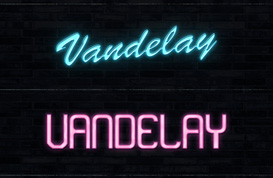 Neon Text Styles for Photoshop