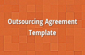 Outsourcing Agreement Template