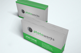 Photoworks Business Card Template