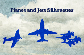 Planes and Jets Silhouettes
