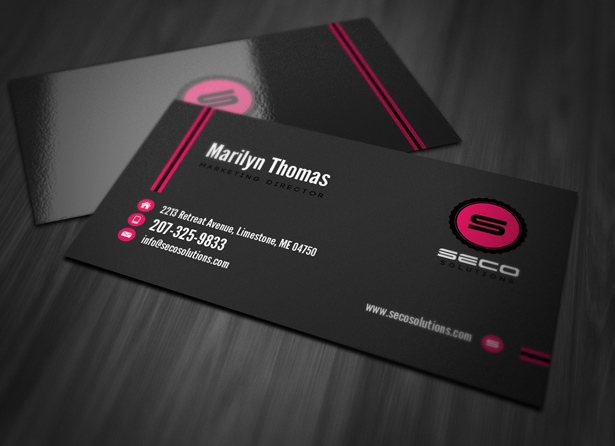 Simple Professional Business Cards & Becuo