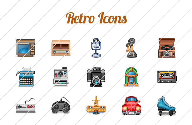 Retro Icons