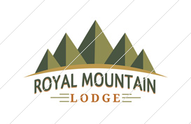 Royal Mountain Lodge Logo Template