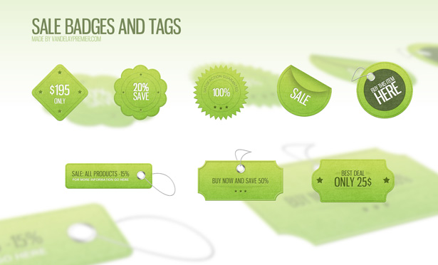 Sale Badges and Tags