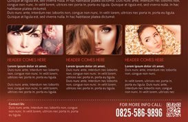 Salon Flyer Template