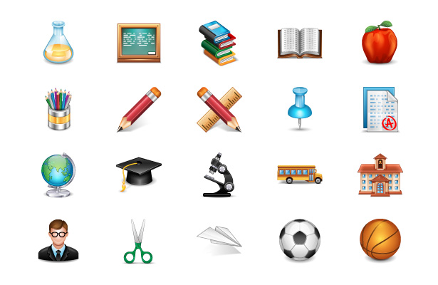 School Icons