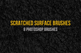 Scratched Surface Photoshop Brushes