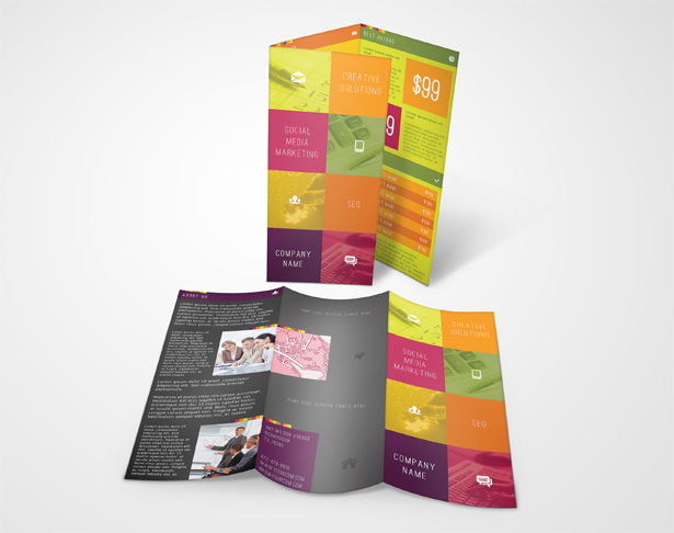 SEO Services Brochure Template