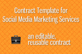 Social Media Marketing Services Contract Template