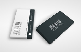 Social Media Business Card Template
