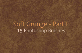 Soft Grunge Photoshop Brushes – Part II