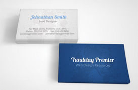 Subtle Splatter Business Card Template
