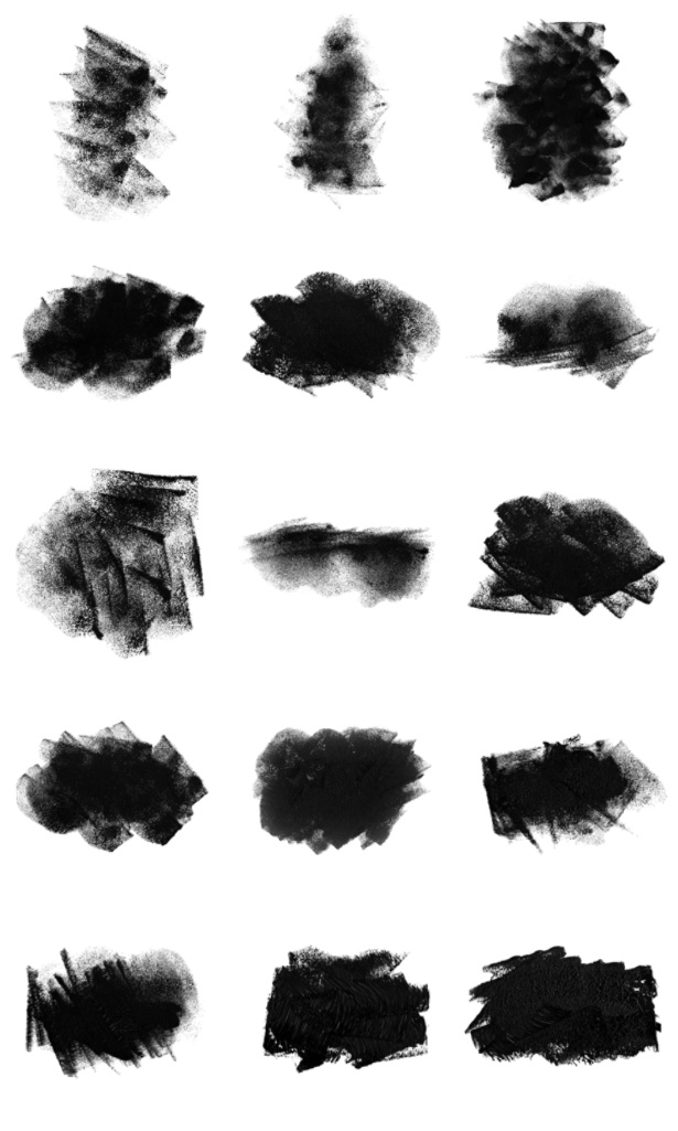 Sponges Photoshop Brushes - Part III