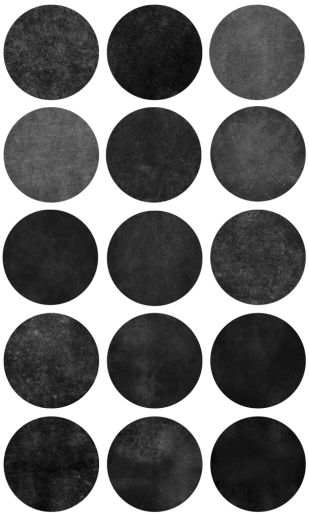 Textured Circles Brushes