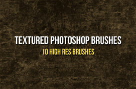 Textured Photoshop Brushes