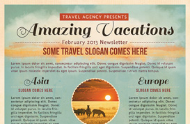 Travel Flyer Template 2