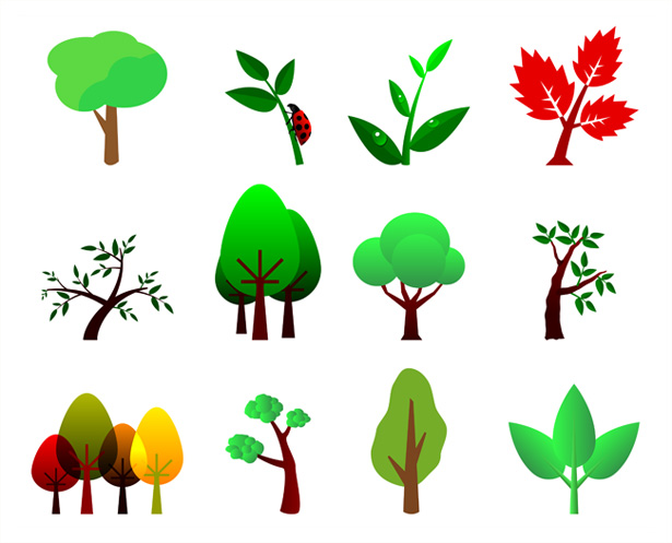 Tree Illustration Vectors