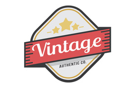 Vintage Badge Logo Template