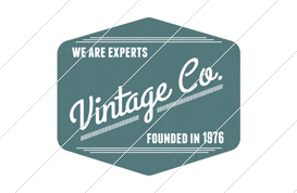 Vintage Co. Logo Template 2