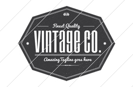 Vintage Co. Logo Template