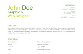 Nature-Inspired Resume Template