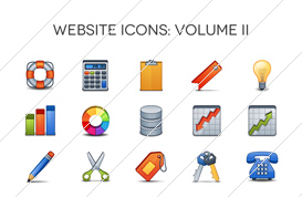 Website Icons – Volume II