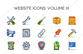 Website Icons – Volume III