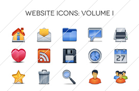 Website Icons – Volume I